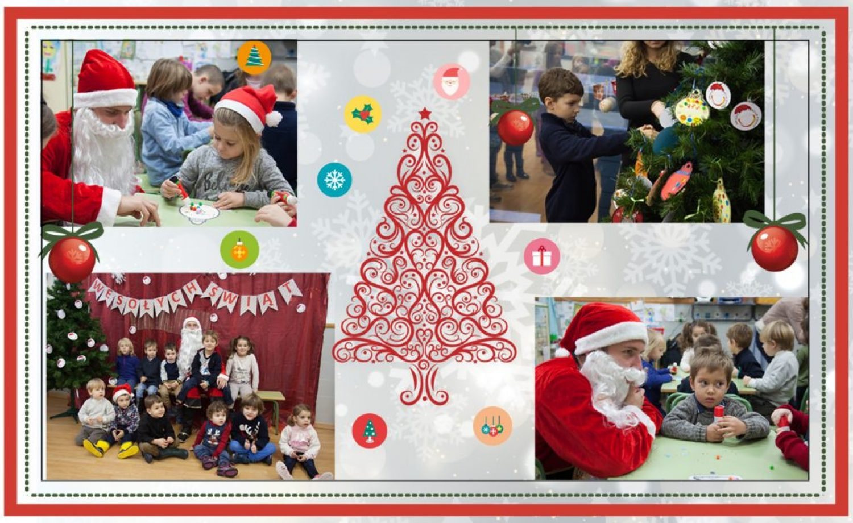 La visita de Papa Noel