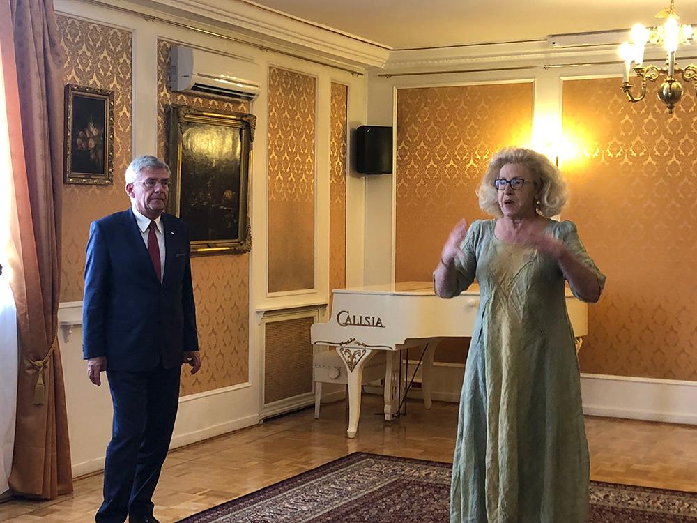 Visita del jefe de la Cámara Baja del Parlamento Polaco en Madrid