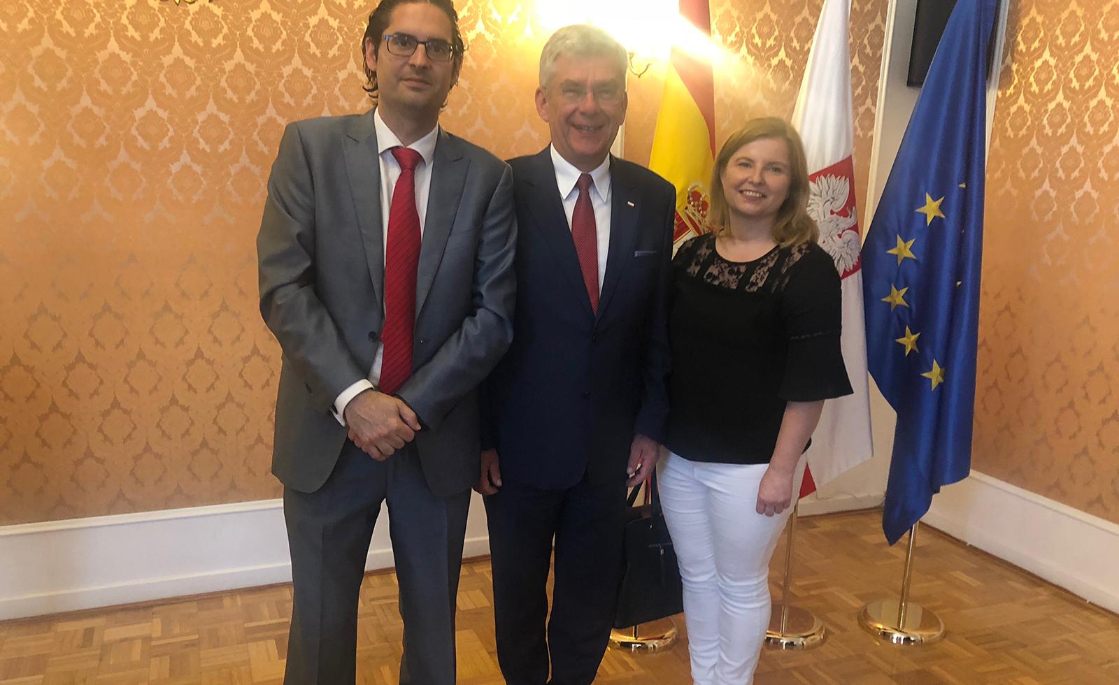Wizyta marszałka sejmu RP w Madrycie